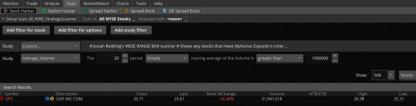 Alphonso Esposito's WRB Wide Range Bar Strategy Indicators and Scanners for ThinkOrSwim