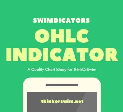 open high low close indicator study for thinkorswim