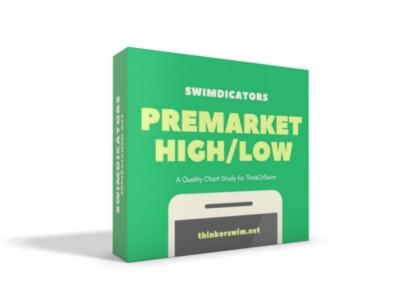 premarket high low range indicator study for thinkorswim