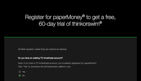 All About ThinkOrSwim Paper Money - Easycators Thinkorswim